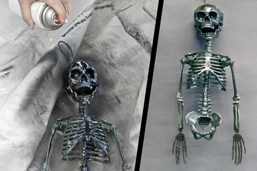 Ruh Emici iskeletin boyamasi