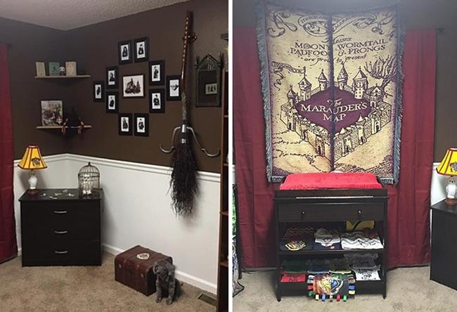 HP Temalı Oda