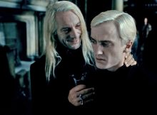 Draco Malfoy Lucius Malfoy