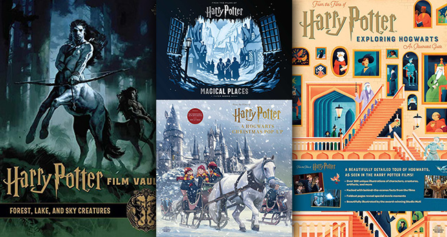 Harry Potter 4 yeni kitap