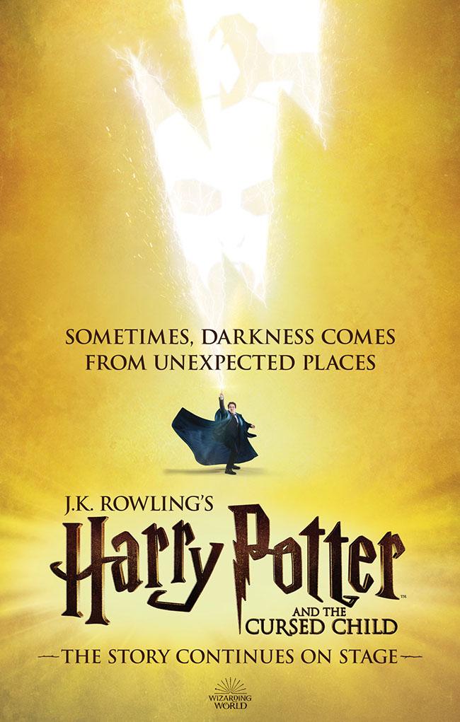 Harry Potter ve Lanetli Çocuk yeni tasarım