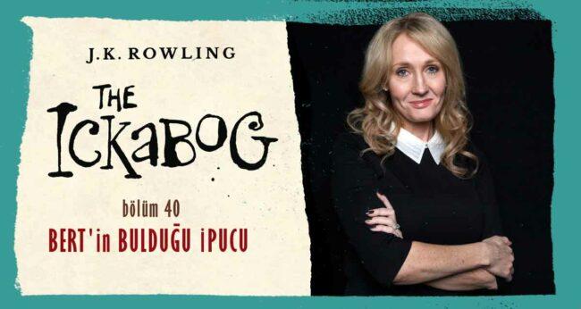 The Ickabog #40: J.K. Rowling