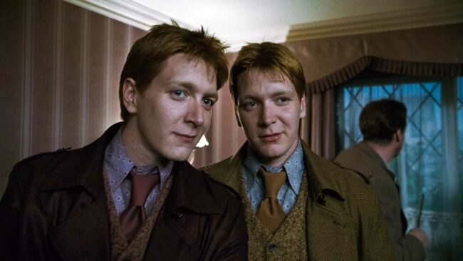 fred ve george weasley