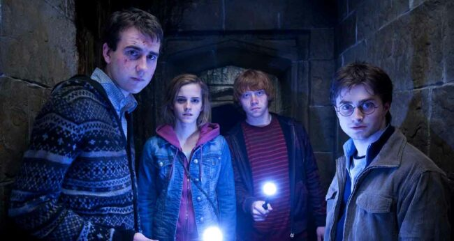 neville hermione ron harry