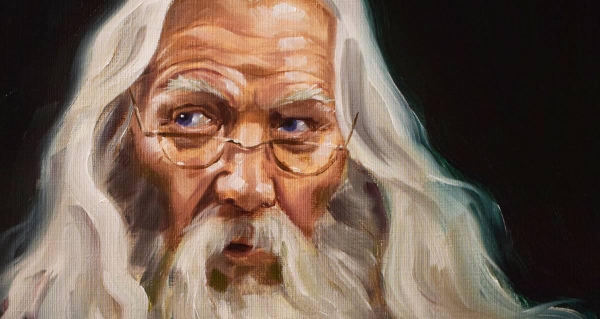 dumbledore portre