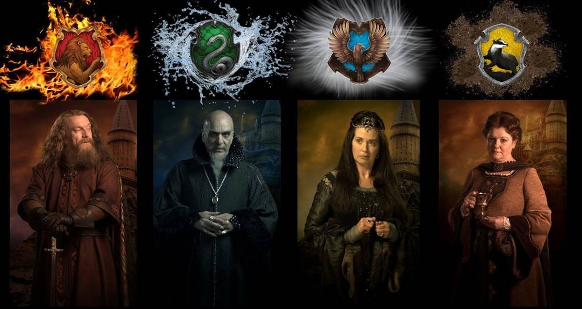 hogwarts'ın kurucuları dizi