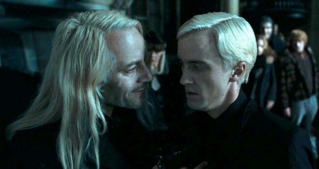 Lucius ve Draco Malfoy