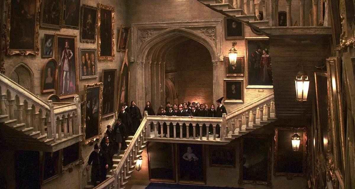 hogwarts merdivenleri