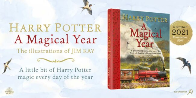 Harry Potter A Magica Year Jim Kay