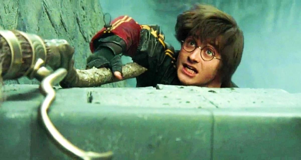 Daniel Radcliffe En Zor Harry Potter Sahnesi