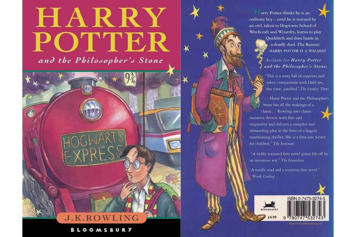 harry potter ve felsefe taşı kitap ilk baskı
