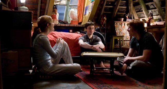 hermione granger harry potter ron weasley