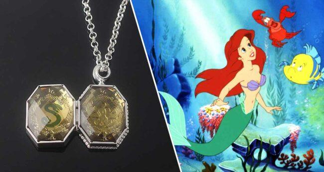 Slytherin'in Madalyonu - The Little Mermaid (Küçük Deniz Kızı) Hortkuluklar Disney filmleri
