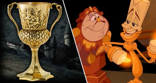 Hufflepuff'ın Kupası - Beauty and the Beast (Güzel ve Çirkin)