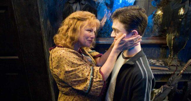 molly weasley ve harry
